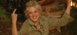 Dschungelcamp 2014: Larissa Marolt tötet die Spinne!