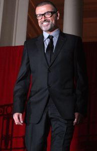 """George Michael - George Michael Press Conference to Announce His New European Tour """"Symphonica: The Orchestral Tour"""" at The Royal Opera House in London on May 11, 2011"""