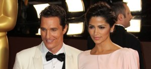 Matthew McConaughey: Camila Alves wollte nicht glänzen