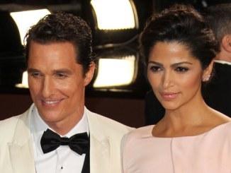 Matthew McConaughey: Camila Alves wollte nicht glänzen - Promi Klatsch und Tratsch