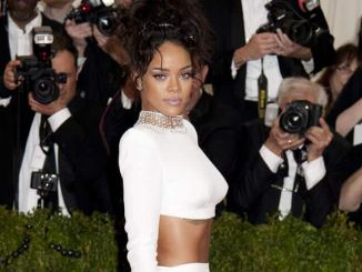 "Rihanna - ""Charles James: Beyond Fashion"" Costume Institute Gala"