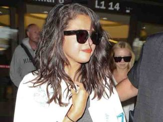 Selena Gomez Sighted at LAX