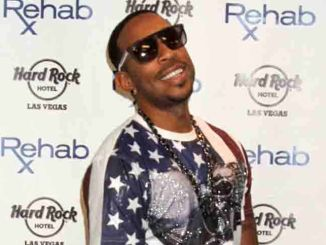 Ludacris Hosts at Rehab Pool During Fight Weekend in Las Vegas on May 3, 2015