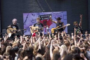 5 Seconds Of Summer Perform at Much Headquarters in Toronto on August 1, 2014