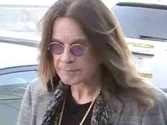 Ozzy Osbourne Sighted at LAX Airport on November 6, 2015