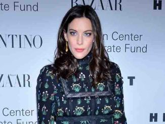 "Liv Tyler - ""An Evening Honoring Valentino"" Lincoln Center Corporate Fund Black Tie Gala"