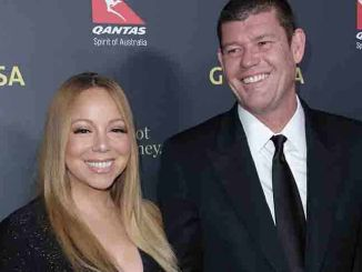 Mariah Carey, James Packer - 2016 G'Day Los Angeles Gala