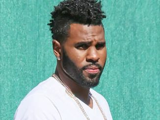 """Jason Derulo Sighted Arriving at """"Jimmy Kimmel Live!"""" on May 2, 2016"""