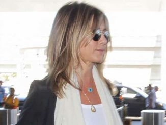 Jennifer Aniston Sighted Arriving at LAX Airport on July 19, 2016