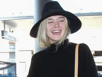 Elle Fanning Sighted Arriving at LAX Airport on November 4, 2015