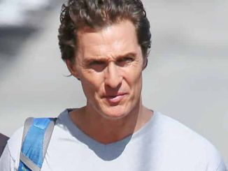 """Matthew McConaughey Sighted Arriving at """"Jimmy Kimmel Live!"""" on May 4, 2016"""
