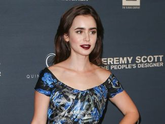 "Lily Collins - ""Jeremy Scott: The People's Designer"" Los Angeles Premiere"