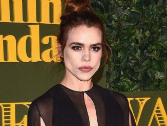 Billie Piper - 62nd Annual London Evening Standard Theatre Awards