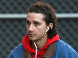 "Shia LaBeouf Sighted at ""Jimmy Kimmel Live!"" on November 21, 2016"