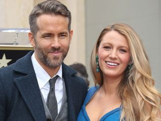 Ryan Reynolds, Blake Lively - Ryan Reynolds Honored with a Star on the Hollywood Walk of Fame