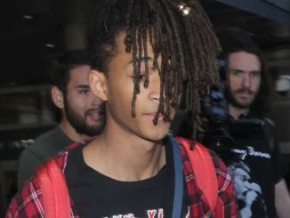 Jaden Smith Sighted at LAX Airport on March 8, 2017