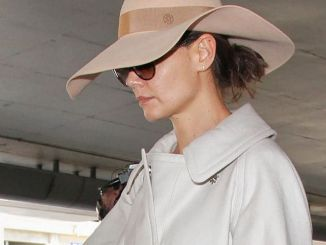 Katie Holmes Sighted at LAX Airport in Los Angeles on February 24, 2017