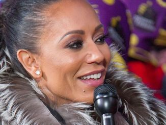 "Melanie Brown - ""Dick Clark's New Year's Rockin' Eve 17 with Ryan Seacrest"" in Times Square"