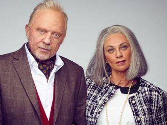 Boris Becker und Lilly als Greise im Fernsehen - TV
