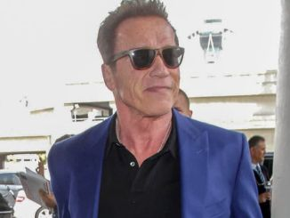 Arnold Schwarzenegger Sighted at LAX Airport on April 27, 2017