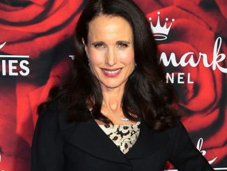 Andie MacDowell - Hallmark Channel and Hallmark Movies and Mysteries Winter 2017 TCA Press Tour