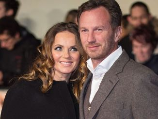 "Geri Horner and Christian Horner - ""I Am Bolt"" World Premiere - Arrivals"