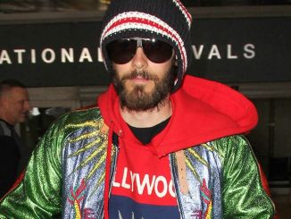 Jared Leto Sighted at LAX Airport in Los Angeles on February 23, 2017
