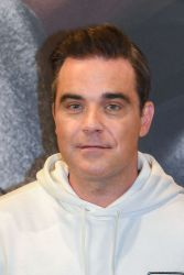 Robbie Williams - Marc O'Polo Launches 50th Anniversary Special Edition Sweatshirt with Robbie Williams - 2