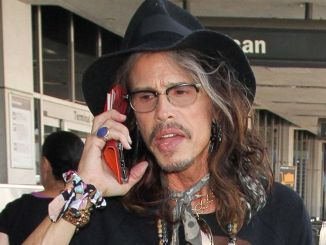 Steven Tyler Sighted at LAX Airport on February 14, 2017 - 2
