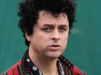 """Billie Joe Armstrong of """"Green Day"""" Sighted at """"Jimmy Kimmel Live!"""" on November 21, 2016"""