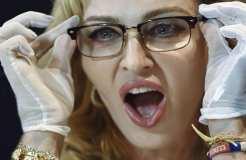 Madonna als Stargast beim ESC