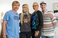 """""""Das perfekte Promi Dinner"""" mit Natascha Ochsenknecht, Giuliana Farfalla, Ansgar Brinkmann und David Friedrich"""