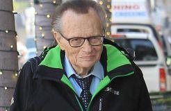 Larry King kennt kein Altersleiden