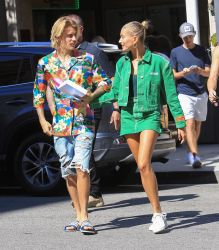 Justin Bieber and Hailey Baldwin Sighted in Los Angeles on August 30, 2018