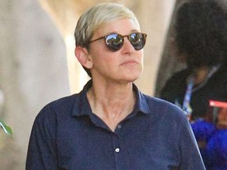 Ellen Degeneres Sighted in Beverly Hills on September 26, 2018