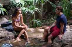 Dschungelcamp 2019: Gisele Oppermann und Chris Töpperwien lästern