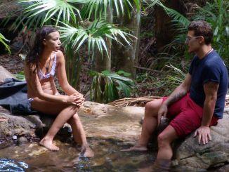 Dschungelcamp 2019: Gisele Oppermann und Chris Töpperwien lästern - TV