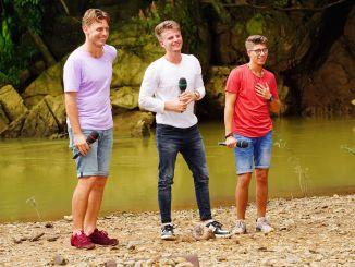 Nick Ferretti, Lukas Kepser und Davin Herbrüggen - Deutschland sucht den Superstar