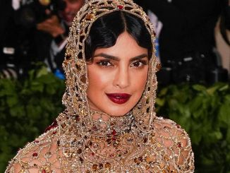 "Priyanka Chopra - ""Heavenly Bodies: Fashion & The Catholic Imagination"" Costume Institute Gala"