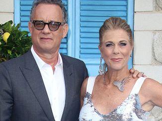 "Tom Hanks and Rita Wilson - ""Mamma Mia! Here We Go Again"" World Premiere"