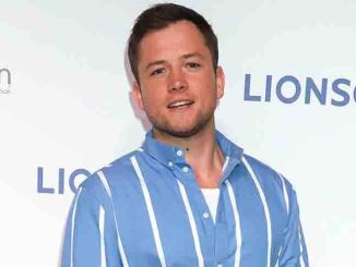 Taron Egerton - CinemaCon 2018 - Lionsgate Presentation for 2018 Summer and Beyond