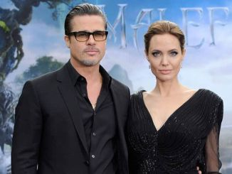 """Brad Pitt and Angelina Jolie - """"Maleficent"""" Costume and Props Private Reception"""