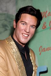 Elvis Presley - New Wax Figures Unveiled at Madame Tussaud's Wax Museum in New York