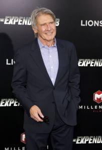 "Harrison Ford - ""The Expendables 3"" Los Angeles Premiere"
