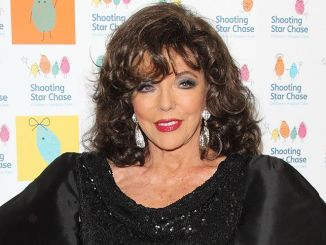 Joan Collins - 2014 Shooting Star Chase Ball