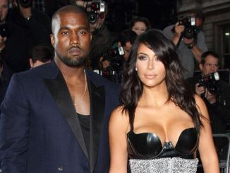 Kanye West and Kim Kardashian - GQ Men of the Year Awards