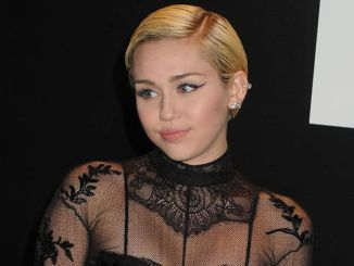 Miley Cyrus. Tom Ford 2015 Autumn/Winter Womenswear Collection Show