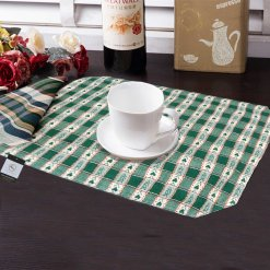 Avioni Premium Faux Silk Table mats Quality ( Set of 6)