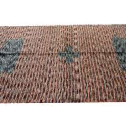 Shop Chenille Rugs (Durries) in Black With Color Stripes By Avioni