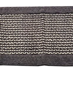 Handloom Cotton And Chenille Bedside Runners (22X55 Inch) by Avioni